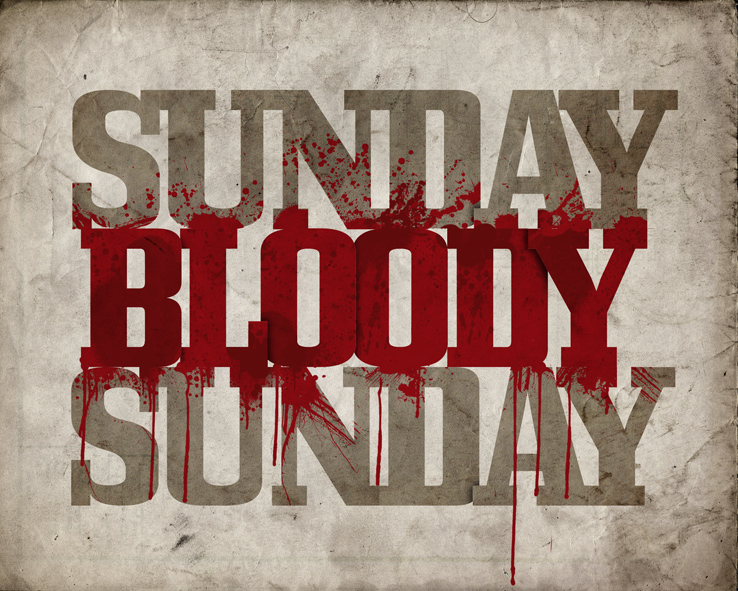 sunday bloody sunday hda